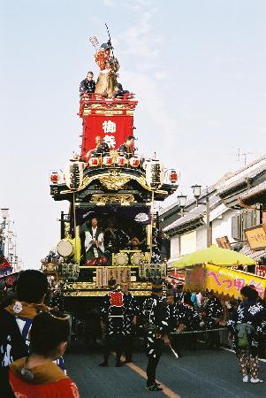 Kawagoe's summer festival