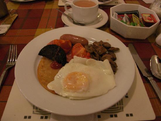 Rennie Mackintosh Art School Hotel: Scottish Breakfast Not