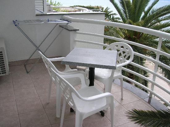 Villa Jerkan: Balkon