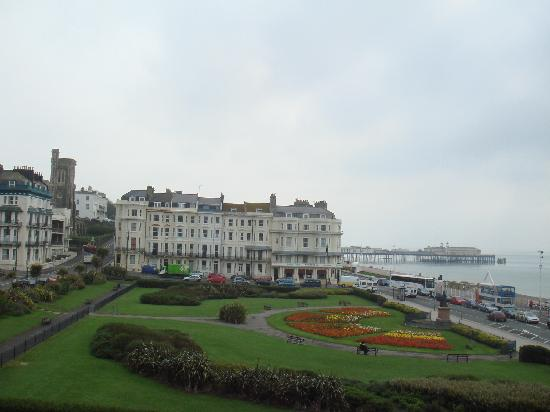 Hastings House: Overlooking the sea and warrior square from the hotel room