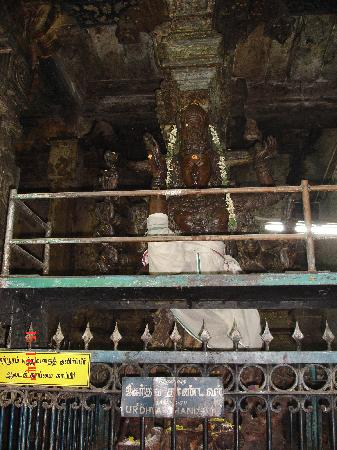 Sri Meenakshi Temple: God Statue in Meenakshi Amman Temple