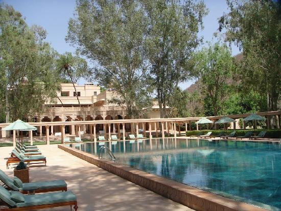 Amanbagh: Main pool, all in marble