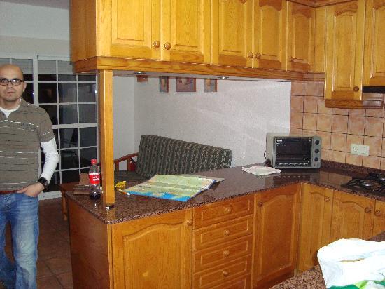 Apartments Benimeit : Livingroom and Kitchen