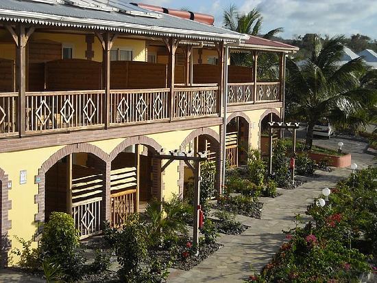 Le Vauclin, Μαρτινίκα: Un bâtiment de chambres