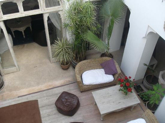 Riad Safa: typical interior garden