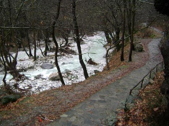 Aridaia, Hellas: aridea's running water