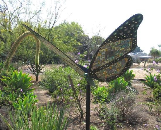 Santa Ana Zoo at Prentice Park: The Butterfly Garden