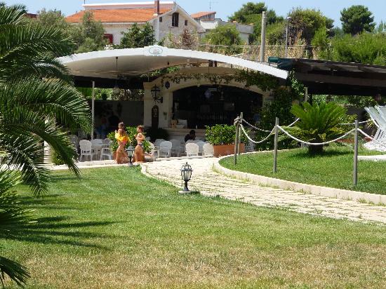 Gabbiano Hotel: Bar all'aperto