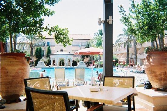 Napa Plaza Hotel: pool daytime