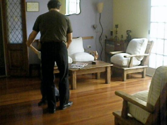Caseron Porteno B&B: sala de estar