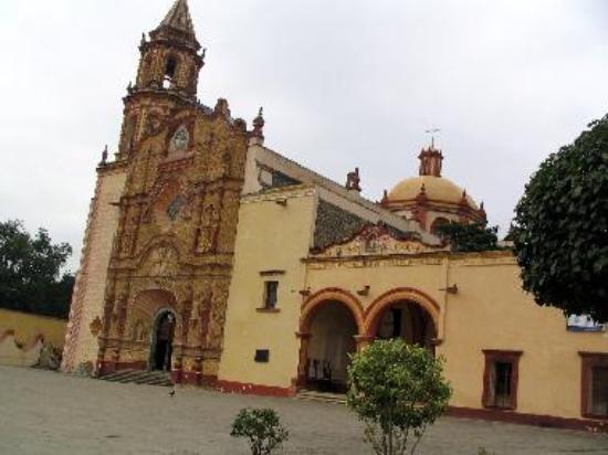Mission church at Jalpan