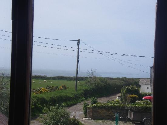 Poldark Inn: View from our room no 5