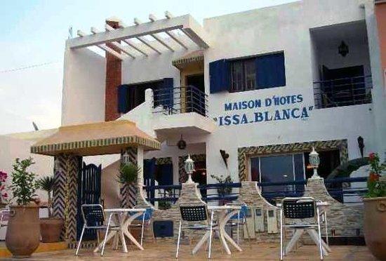 Hotel Issa-Blanca : la terrasse d'Issa Blanca