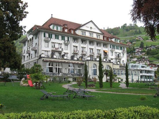 Parkhotel Gunten: vue du lac