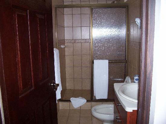 Hotel y Restaurante El Guarco: bathroom