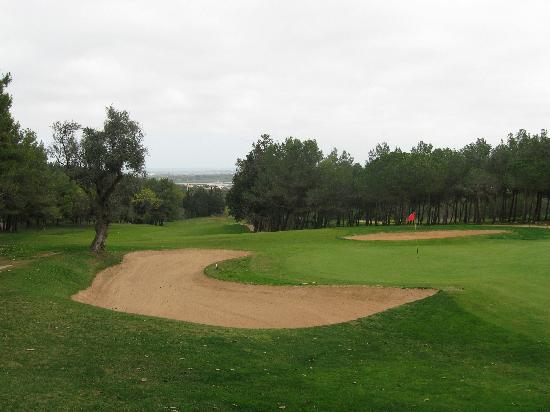 Tivoli Lagos Hotel: 18th Green- local Palmares Golf Club