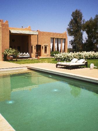 Dar Cherif : Vu sur piscine