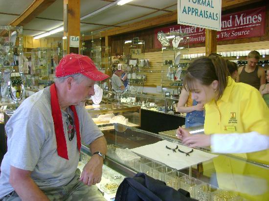 Herkimer Diamond Mines : Having pendant made.