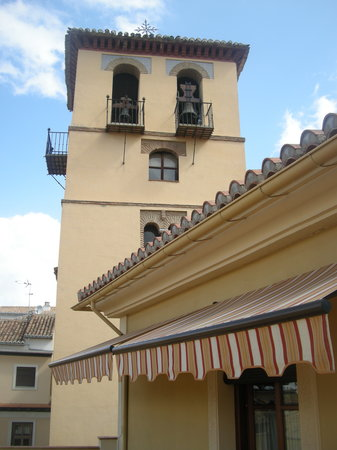 Apartamentos Turisticos San Matias: Vista desde terraza suite