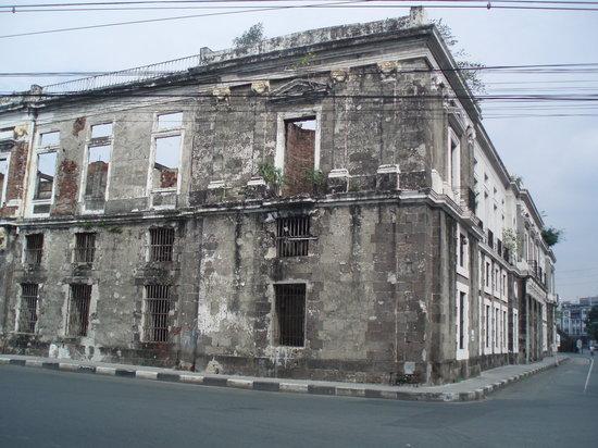 Intramuros (παλιά πόλη)