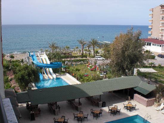 Rheme Beach: the view from the balcony
