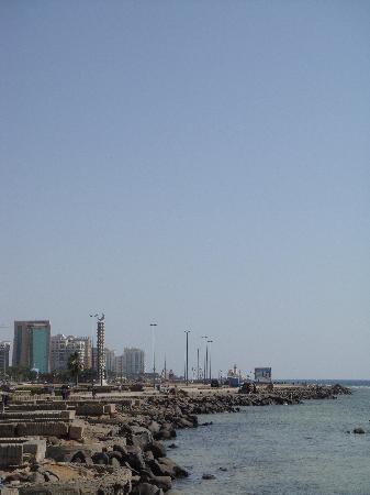 Albilad Hotel: Northern Corniche, looking south