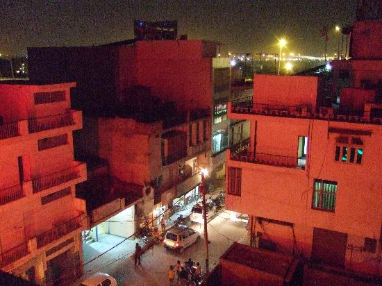 Hotel Saptagiri: 屋上から