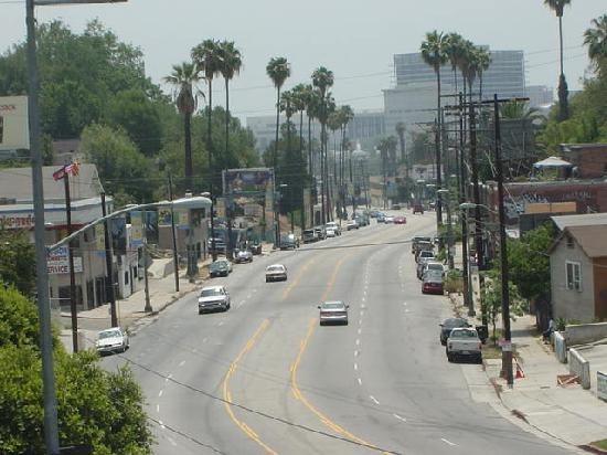 Super 8 Los Angeles Downtown: on sunset blvd