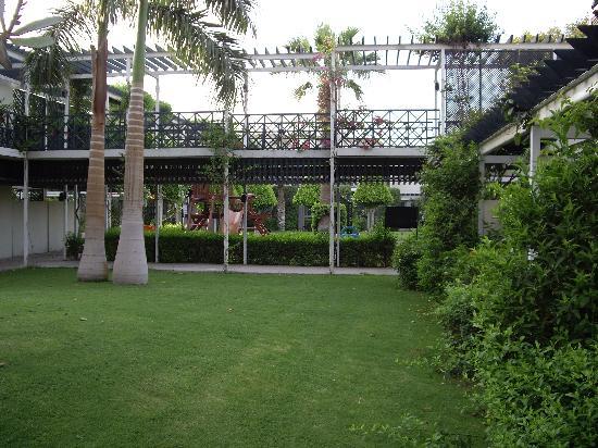 Le jardin picture of mercure cairo le sphinx giza for Le jardin hotel mercure