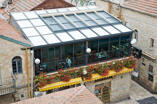 Zuni Restaurant Cafe Bar, view from Harmony Hotel