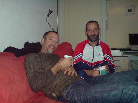 CityCenter Bed and Breakfast Amsterdam: Joost und Camillo!