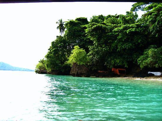 Bunaken Cha Cha Nature Resort: chachabucht