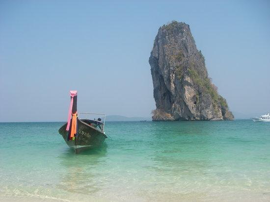 Krabi Town, Tayland: Krabi boats
