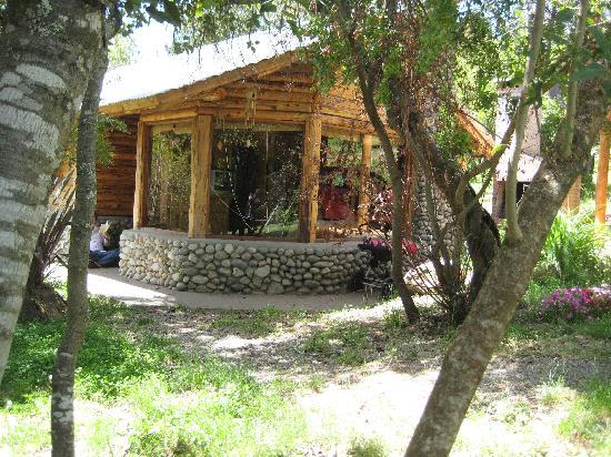 Cabanas Los Teros : Relaxing outside 'Los Juncos'