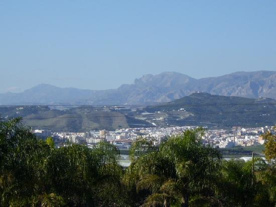 Motril town, view from Cortijo Nuevo