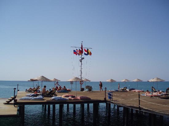 Liberty Hotels Lara : Lara beach deck