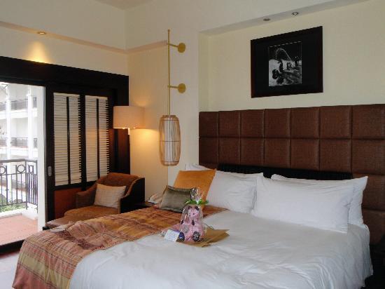 โรงแรมอินเตอร์คอนติเนนตัลฮานอยเวสเลค: ホテルのお部屋
