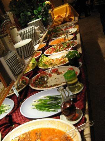 Burcu Kaya Hotel: Restaurant Buffet