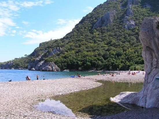 Simena Holiday Village: lovely beach at Olympus
