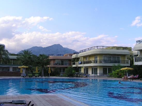 Simena Holiday Village: one of the pools at Simena Villas