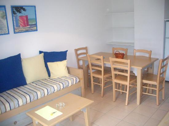 Résidence Club mmv Ondres L'Allée des Dunes : Le salon et la salle à manger