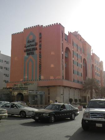 Golden Tulip Andalusia Riyadh : The hotel building