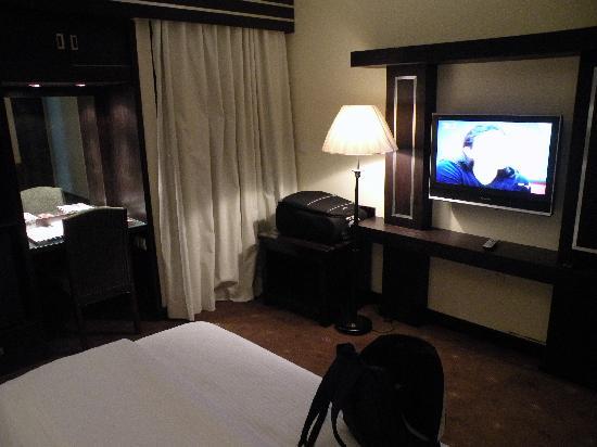 Al Seteen Palace Hotel: The Flatscreen TV