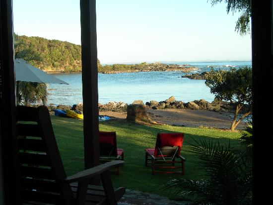 Sanctuary in the Cove: View from lounge