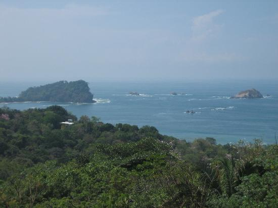 Villa Manuel Antonio: View of the ocean from the baclony
