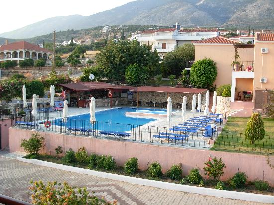 Lourdata, Greece: pool and Apartments