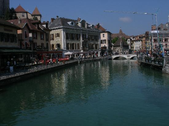 view from hotel splendid room picture of splendid hotel annecy tripadvisor. Black Bedroom Furniture Sets. Home Design Ideas