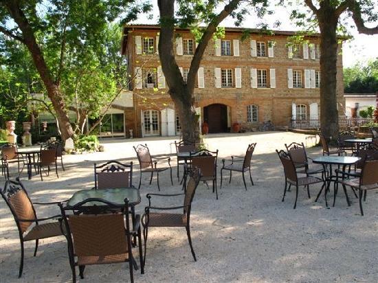 Le Moulin de Rudelle: Vue du parc