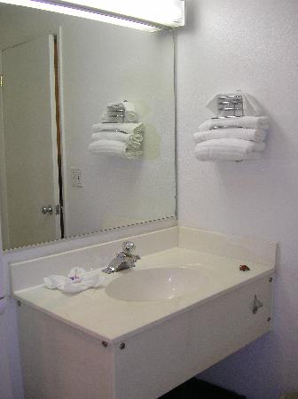 Motel 6 Des Moines South - Airport: Vanity