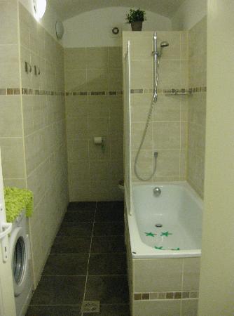 Prague Tower 2 Apartment : separate bathroom area